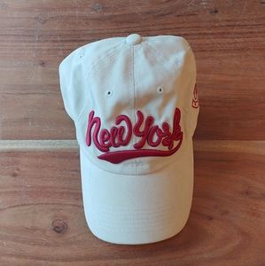 New York Beige Cap - Urban Outfitters